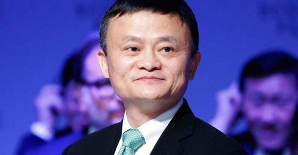 Doanh nhân giàu nhất Trung Quốc Jack Ma.