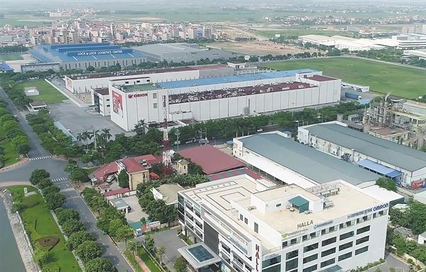 Khu công nghiệp Yên Phong, Bắc Ninh.
