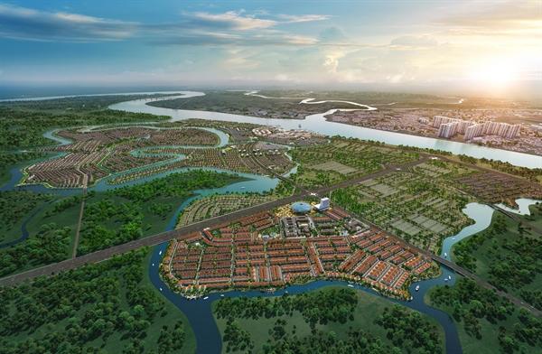 Dự án đô thị sinh thái thông minh quy mô  gần 1.000 ha ngay phía Đông TP.HCM được kỳ vọng mang đến nhiều giá trị đầu tư và an cư xanh.