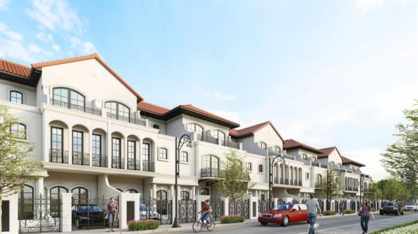 Nhà phố Deluxe Green House mang phong cách Địa Trung Hải sang trọng và tinh tế tại Aqua City.