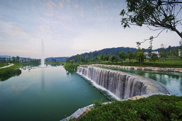 Những công trình điều tiết thiên nhiên là điểm nhấn đặc trưng tại các dự án của Gamuda Land.