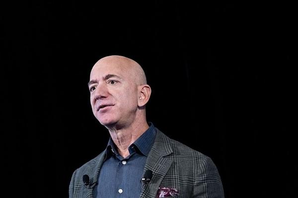 CEO Amazon Jeff Bezos. Ảnh: Bloomberg.