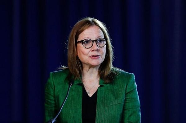 CEO General Motors Mary Barra. Ảnh: AP.