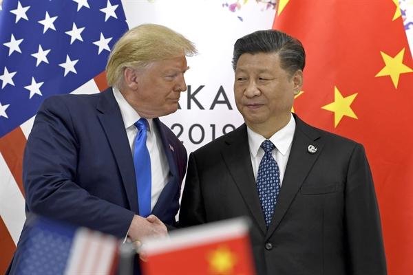 Mỹ và Trung đạt được thỏa thuận thương mại một phần hồi tháng 1. Ảnh: CNBC