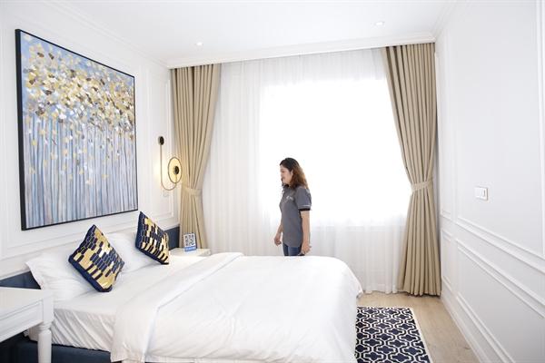 Những khách hàng lựa chọn thiết kế nội thất tân cổ điển thường là khách hàng sống trong khu căn hộ cao cấp và biệt thự. Ảnh: TTDECOR