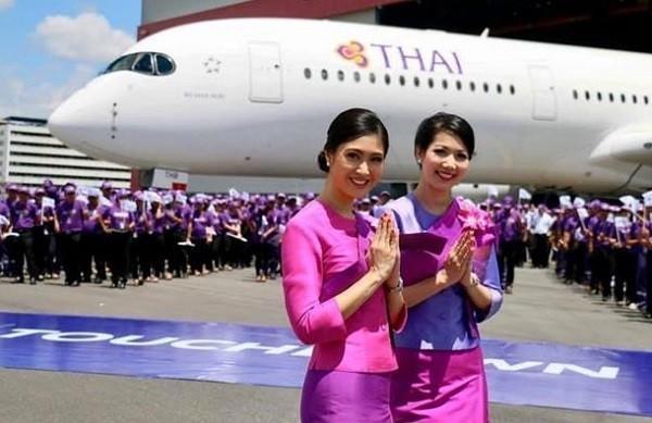 Thai Airways được thành lập năm 1960 dưới hình thức liên doanh giữa Scandinavian Airlines (SAS) và hãng hàng không nội địa của Thái Lan, Công ty Thai Airways. Ảnh: