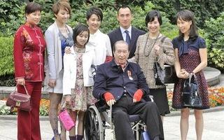 Ông Ho có 17 người con với 4 người vợ.
