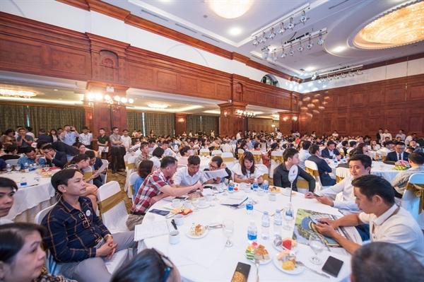Quang cảnh của buổi tham quan và trải nghiệm dự án Kỳ Co Gateway tại Hà Nội.