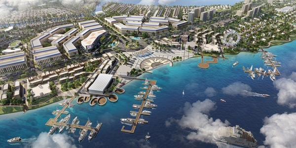 Khu đô thị sinh thái thông minh Aqua City quy mô gần 1.000ha tọa lạc tại ngay phía Đông TP.HCM