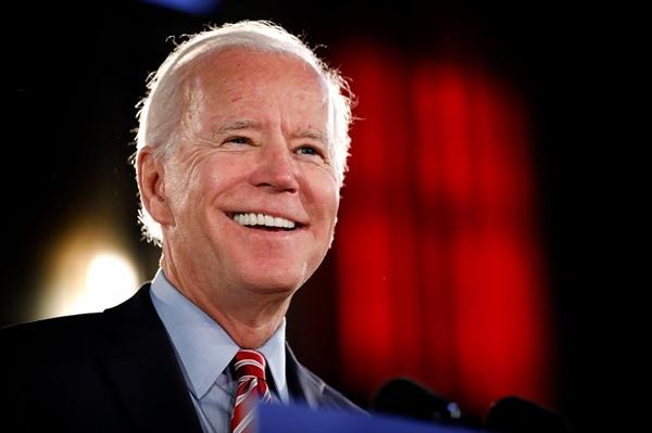 Ứng cử viên Đảng Dân chủ, Joe Biden. Ảnh: Rick Loomis/Getty Images.
