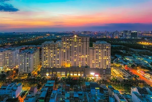 Khu căn hộ SaigonMia tọa lạc tại khu Trung Sơn sầm uất.