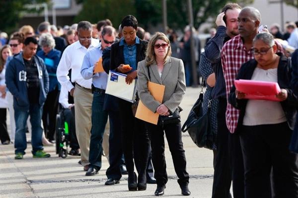 Quý II, người thất nghiệp ở Mỹ cao nhất từ năm 1940. Hình minh họa. (Reuters)