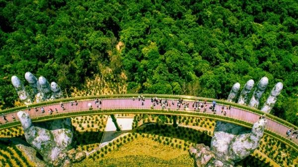 The Golden Bridge is a top tourist destination in Vietnam. Photo by Shutterstock/Anh Du.