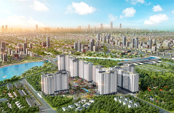 Picity High Park gồm 6 tòa tháp với 2.500 căn hộ cao cấp quanh mức giá trên dưới 2 tỉ