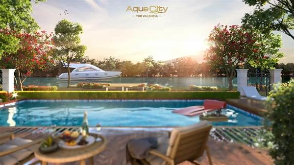 Tận hưởng giá trị sống sinh thái thượng lưu ngay bên hiên nhà tại Đô thị sinh thái thông minh Aqua City.