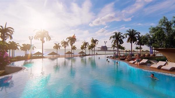 Aquamarine sở hữu những tiện ích nội khu đa dạng và đẳng cấp đáp ứng nhu cầu nghỉ dưỡng thượng lưu như cầu tình yêu Amor & Psyche dài 100 m trên biển, 400 m bãi biển riêng, Sky Bar trên không, hồ bơi Dolphin hướng biển...