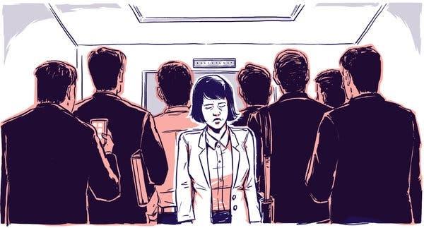 Tỉ lệ lao động nữ ngày càng bị thu hẹp. Nguồn ảnh: The New York Times