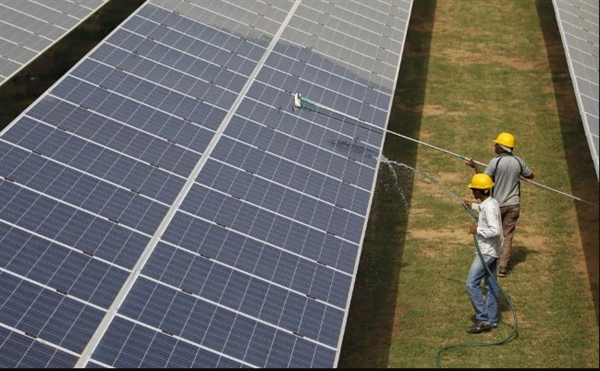 Ấn Độ sẽ áp mức thuế 25% đối với các môđun năng lượng mặt trời từ tháng 8.2020. Nguồn ảnh: NDTV