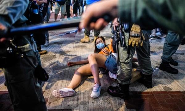 Các nhà hoạt động nhân quyền lo ngại luật an ninh quốc gia của Trung Quốc sẽ đe dọa quyền tự do ở Hồng Kông. Nguồn ảnh: AFP