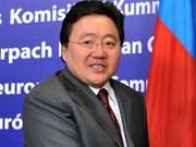 Tổng thống Mông Cổ sẽ thăm cấp Nhà nước Việt Nam
