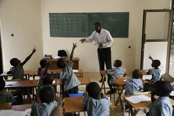 Chùm ảnh của Steve McCurry: Học để thay đổi thế giới