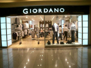 Giordano mở chuỗi bán lẻ tại Việt Nam
