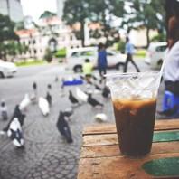 Ở Sài Gòn, ngồi cafe ngắm chim bồ câu