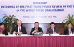 WTO lần đầu tiên rà soát chính sách thương mại Việt Nam
