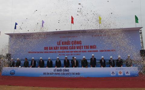 Hơn 1.900 tỷ đồng xây cầu Việt Trì mới
