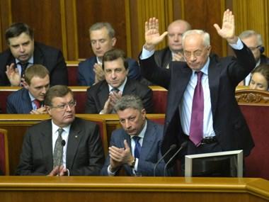 Quốc hội Ukraine bác bỏ phiếu bất tín nhiệm chính phủ