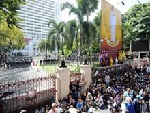 Cảnh sát Thái Lan tuyên bố không ngăn cản người biểu tình