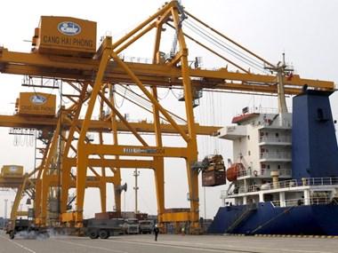 Giữa năm 2017, cảng Quốc tế Hải Phòng đi vào hoạt động
