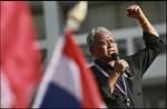 Suthep buộc tội Thủ tướng Thái Lan