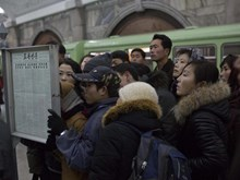 Ông Kim Jong-Un lần đầu xuất hiện sau vụ xử tử chú rể