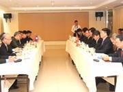 Việt Nam-Lào trao đổi về dự án đường sắt nối hai nước