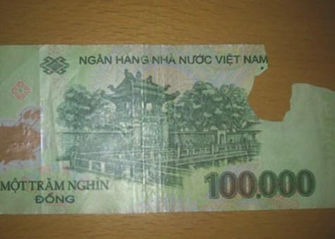 Từ 20/1/2014: Đổi tiền rách không phải mất phí
