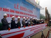 Khởi công đường Hồ Chí Minh đoạn La Sơn-Túy Loan