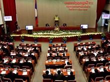 Quốc hội Lào đã thông qua nhiều vấn đề quan trọng