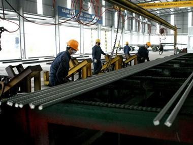 Khánh thành nhà máy thép công suất 300.000 tấn/năm