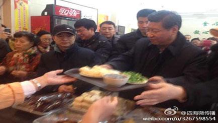 TQ xôn xao vì Tập Cận Bình xếp hàng mua bánh bao