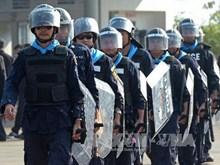 Cảnh sát Thái Lan tụ tập phản đối tại thủ đô Bangkok