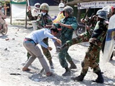 Quân đội Campuchia quyết tâm bảo vệ kết quả bầu cử