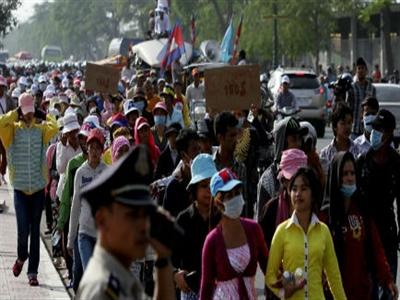 Cảnh sát Campuchia nổ súng, 3 người thiệt mạng
