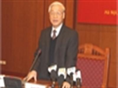 Tổng bí thư nói về các đại án tham nhũng