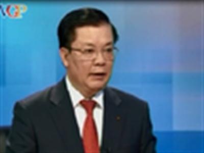 Bộ trưởng Tài chính: Sẽ công khai căn cứ tính giá xăng dầu trong năm 2014