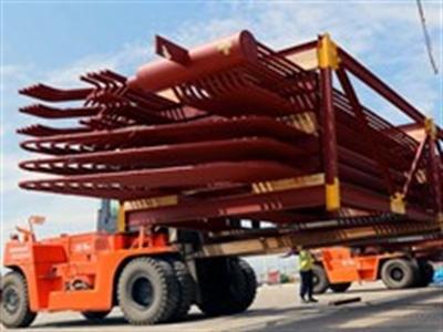 Doosan Vina xuất khẩu lô hàng đầu tiên sang Mexico