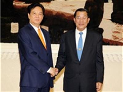 Khởi công xây dựng cây cầu nối Việt Nam-Campuchia