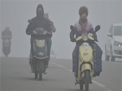 Hàng chục thành phố Trung Quốc mịt mù sương bụi
