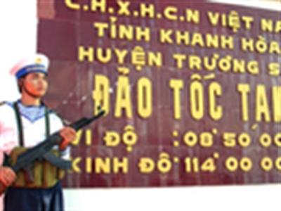 Một trung úy hy sinh tại Trường Sa