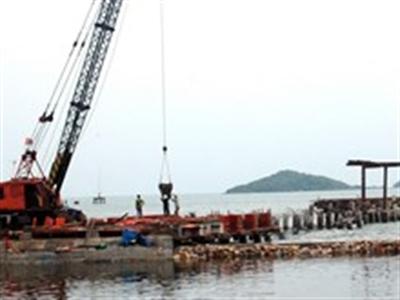 Cho thuê khai thác kết cấu hạ tầng cảng biển An Thới